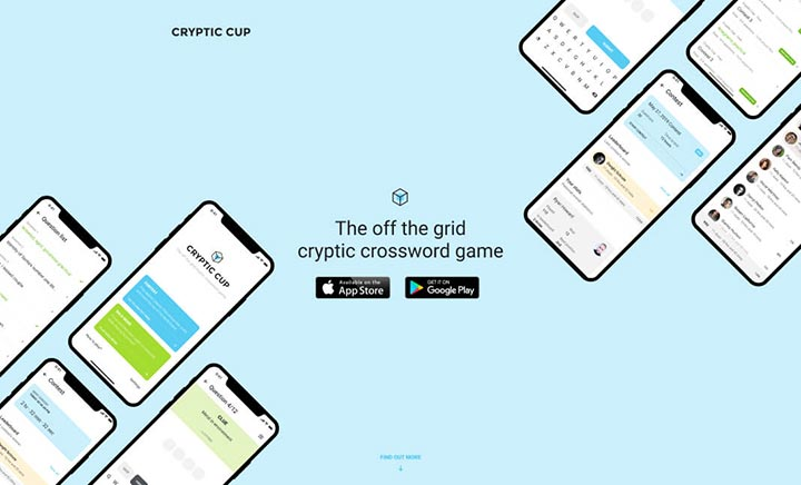 Cryptic Cup website