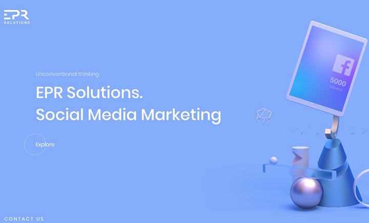Exclusive PR Solutions website