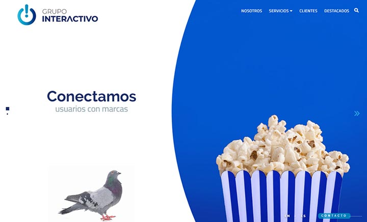 Grupo Interactivo website
