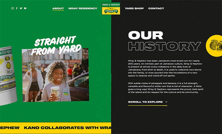 Wray & Nephew website