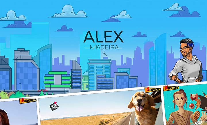 Alex Madeira - Portfolio website