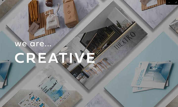 4por4 - creative agency website