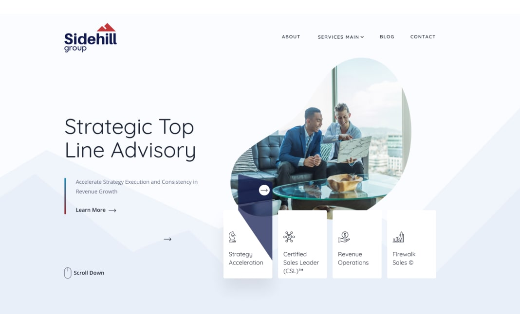 Sidehil Consulting Group website