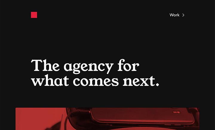 Red Square Agency website