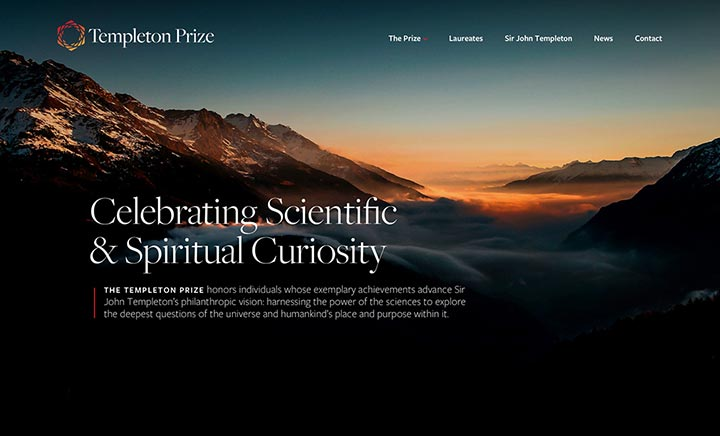The Templeton Prize website