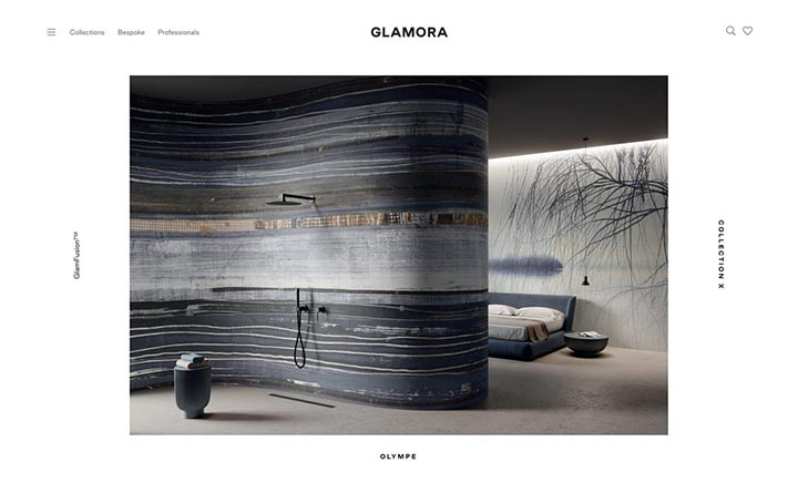 Glamora website