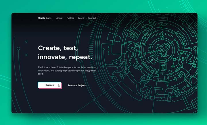 Mozilla Labs website
