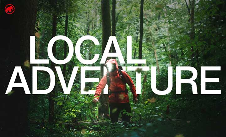 Mammut Local Adventure website