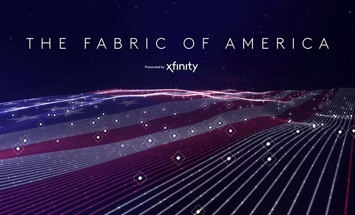 The Fabric of America website