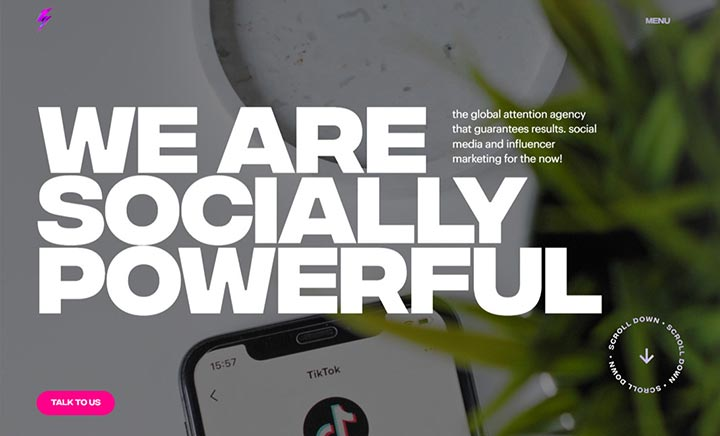 Socially Powerful website