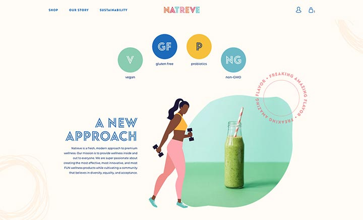 Natreve website
