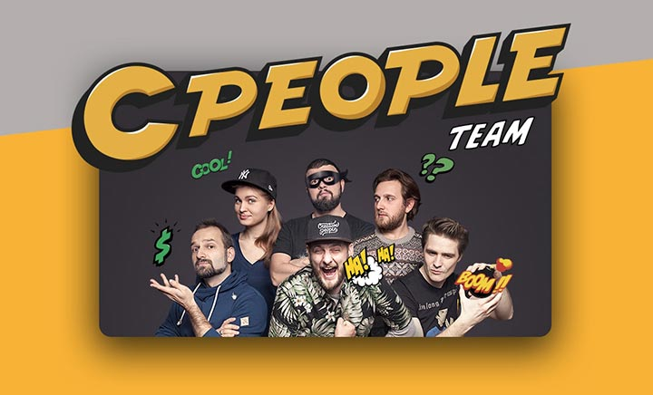 CPeople Team website