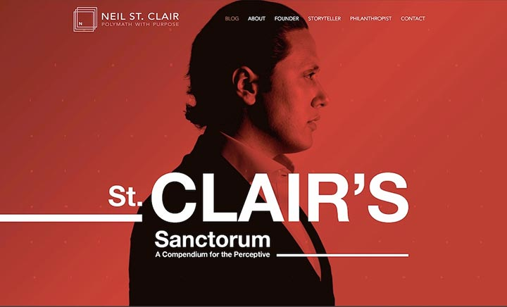 Neil St. Clair (Personal Site)