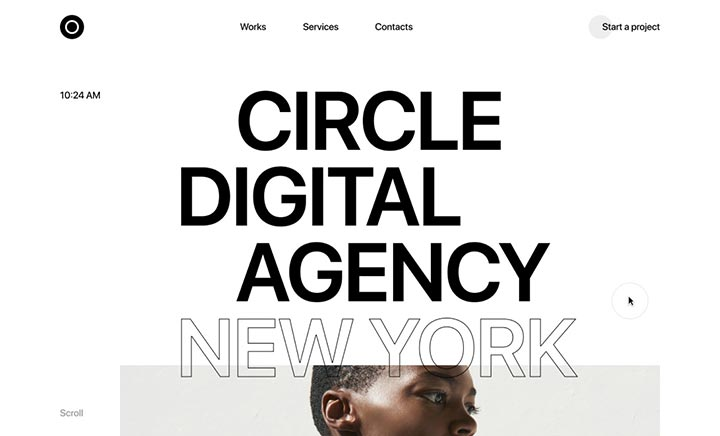 Circle Digital Agency website