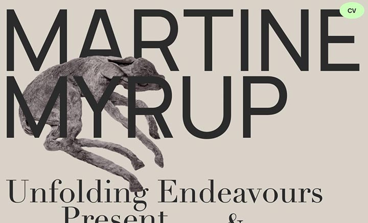 Martine Myrup website
