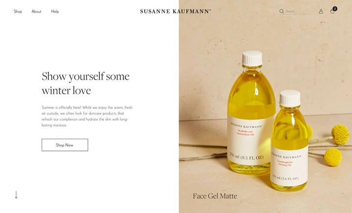 Susanne Kaufmann website