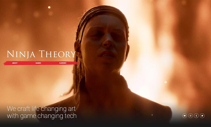 Ninja Theory website