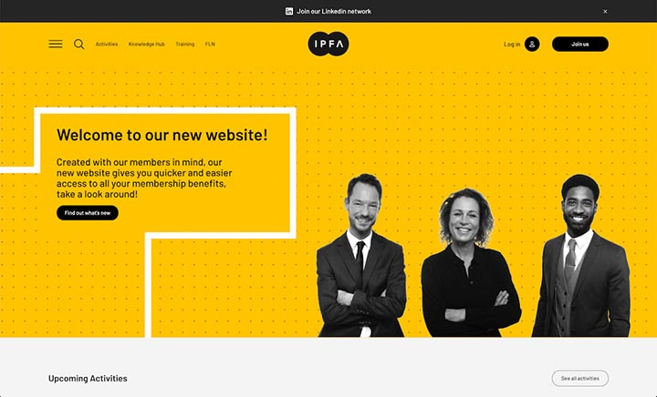 IPFA website