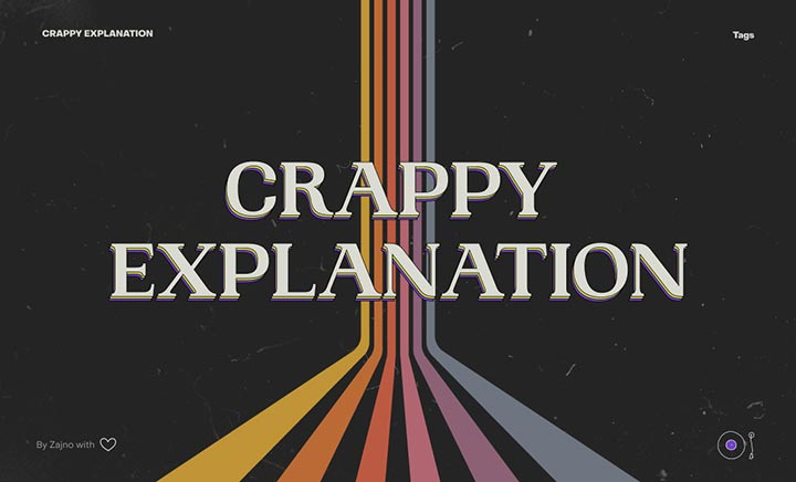 Crappy Explanation website