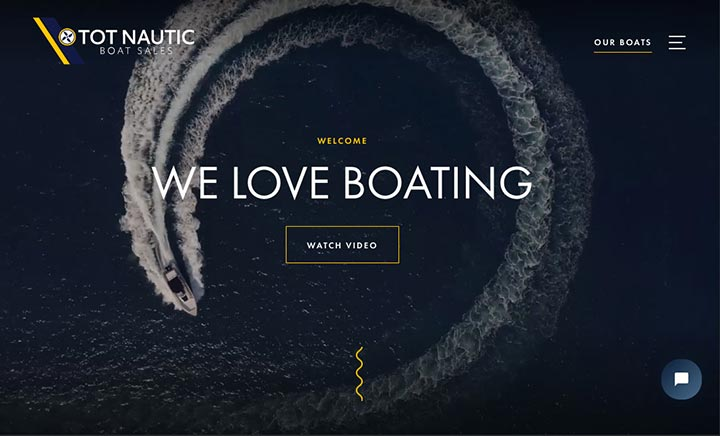 Tot Nautic website