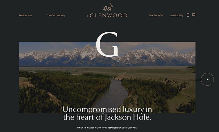 The Glenwood website
